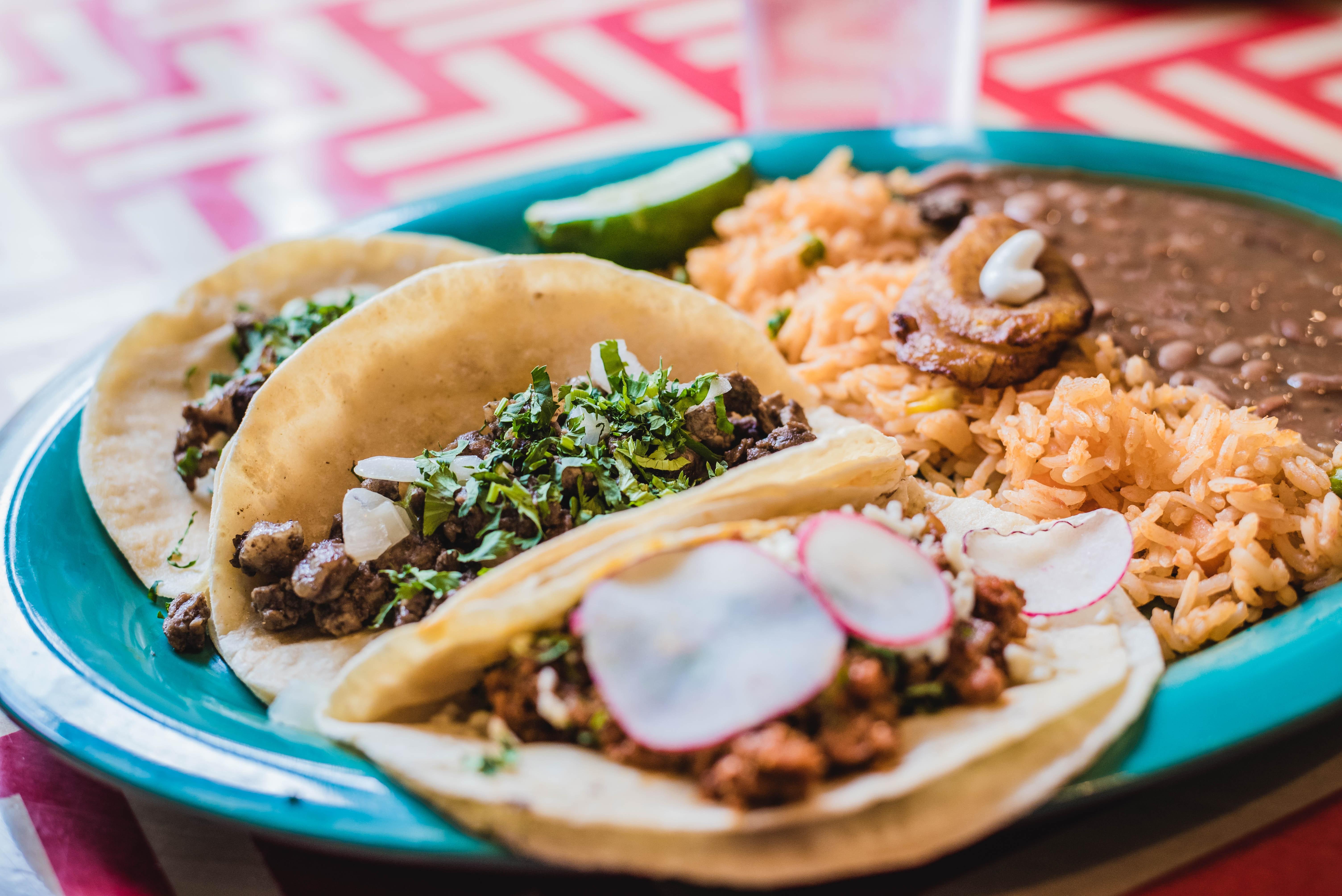 Tacos con Ràpid i Calent