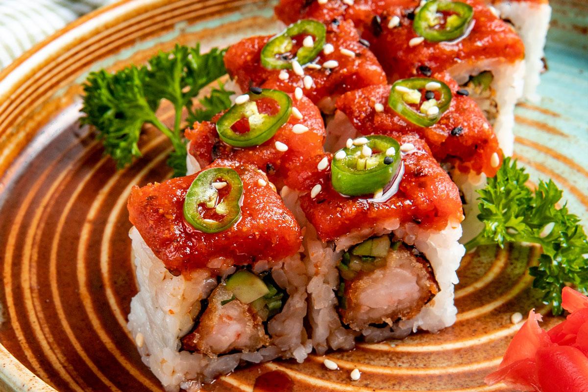 Sushi con Ràpid i Calent